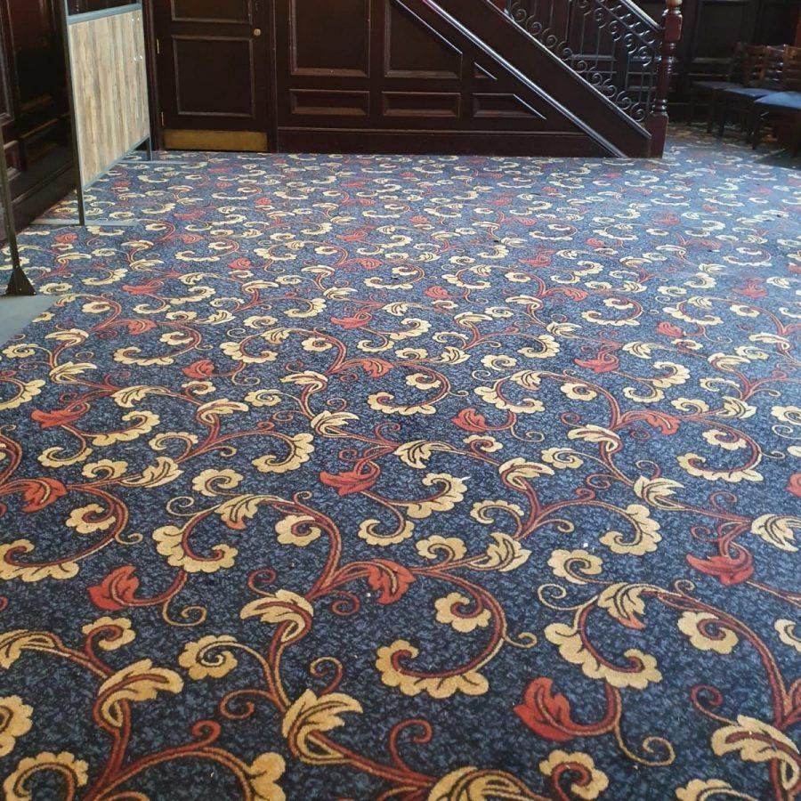 oldham wetherspoons new carpet main flooring area